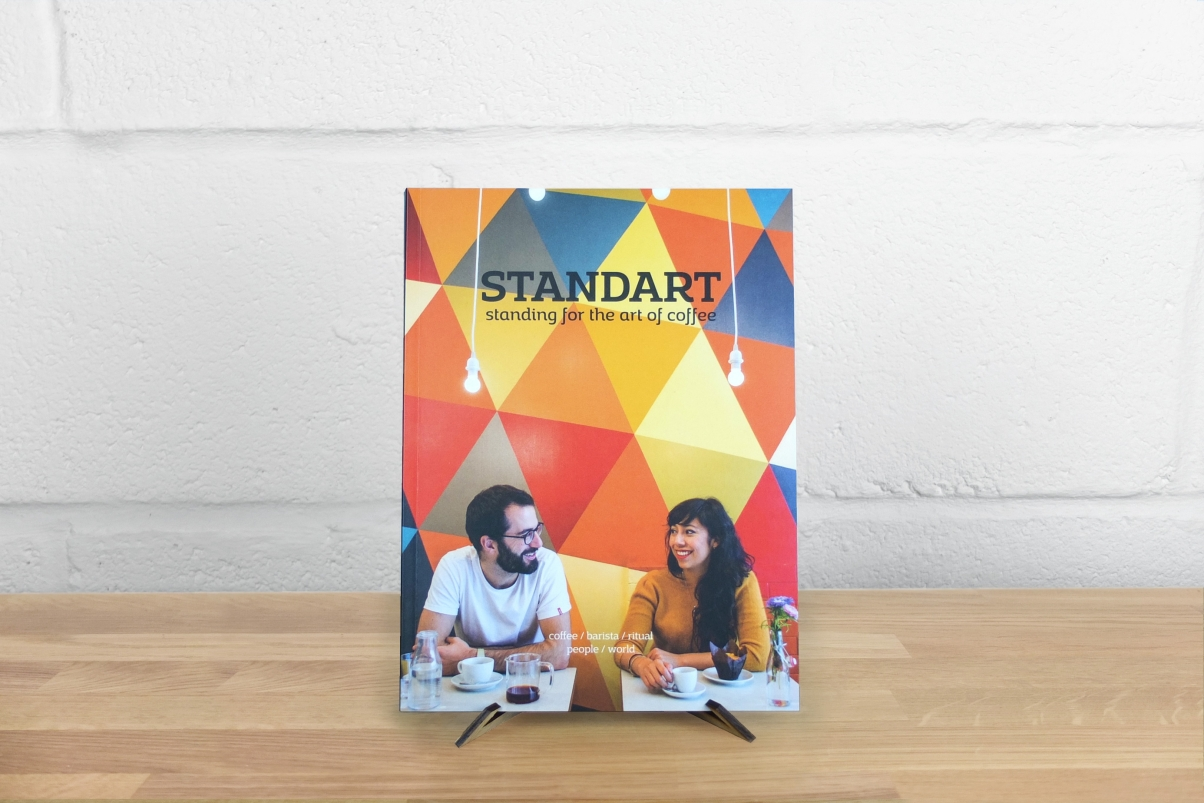 Colourful Standart coffee magazine cover