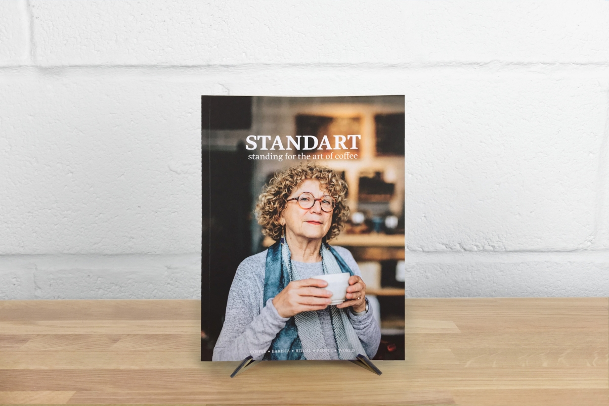 Standart coffee magazine cover