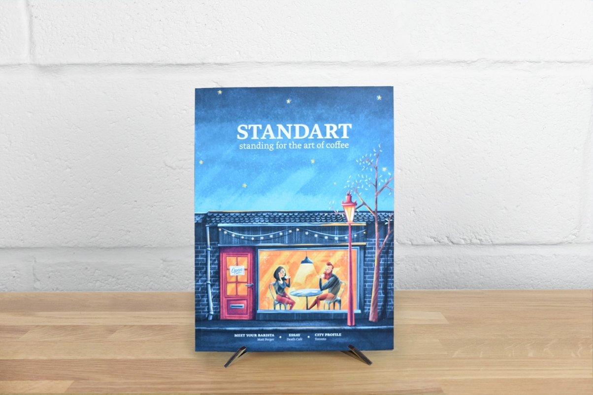Standart coffee magazine cover