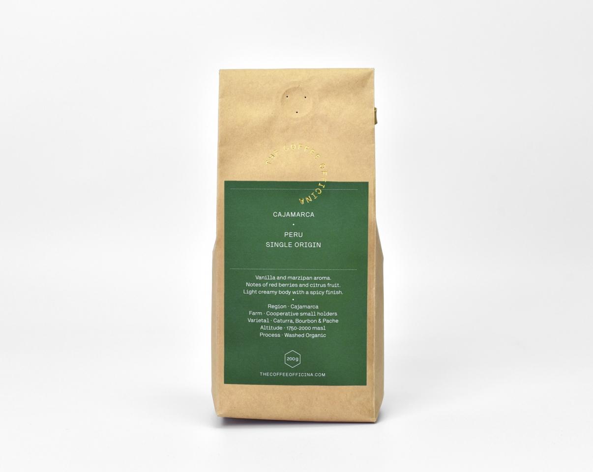The Coffee Officina Cajamarca Peru Single Origin