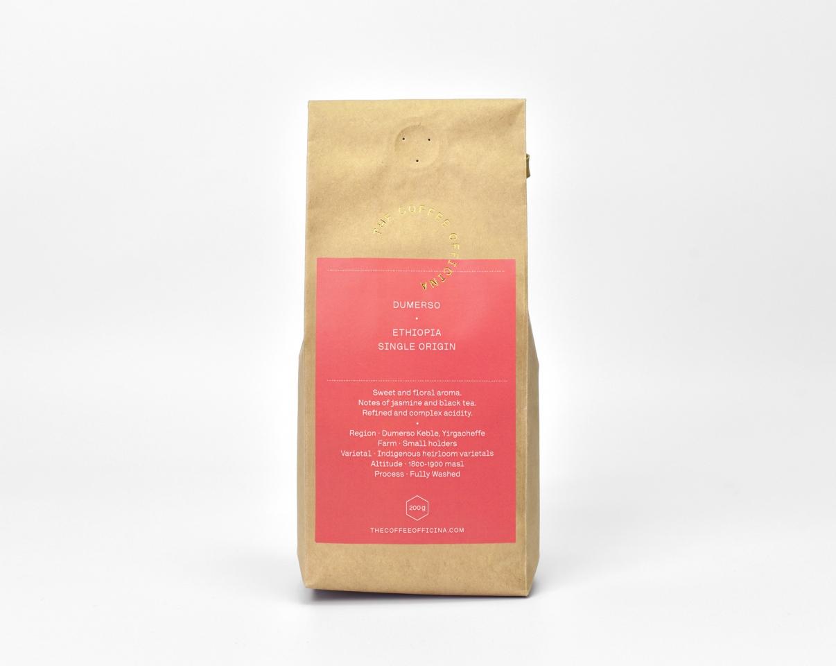 The Coffee Officina Dumerso Ethiopia Single Origin