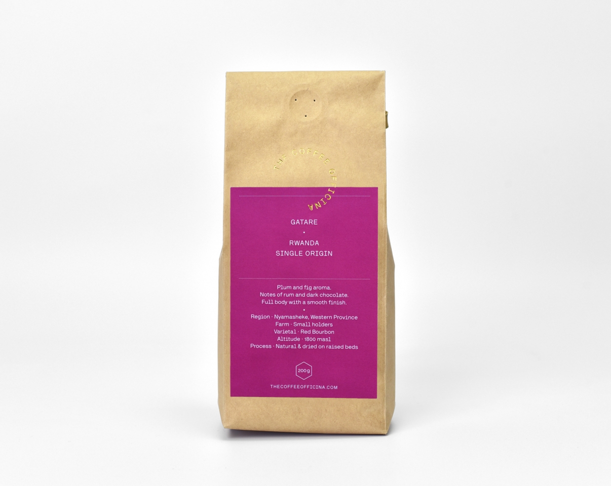 The Coffee Officina Gatare Rwanda Single Origin