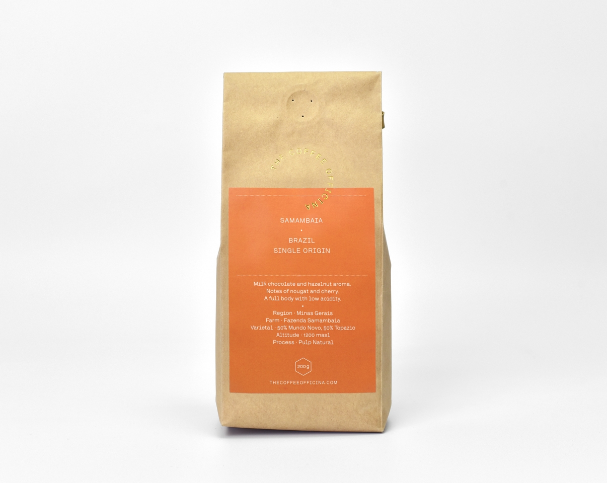 The Coffee Officina Samambaia Brazil Single Origin