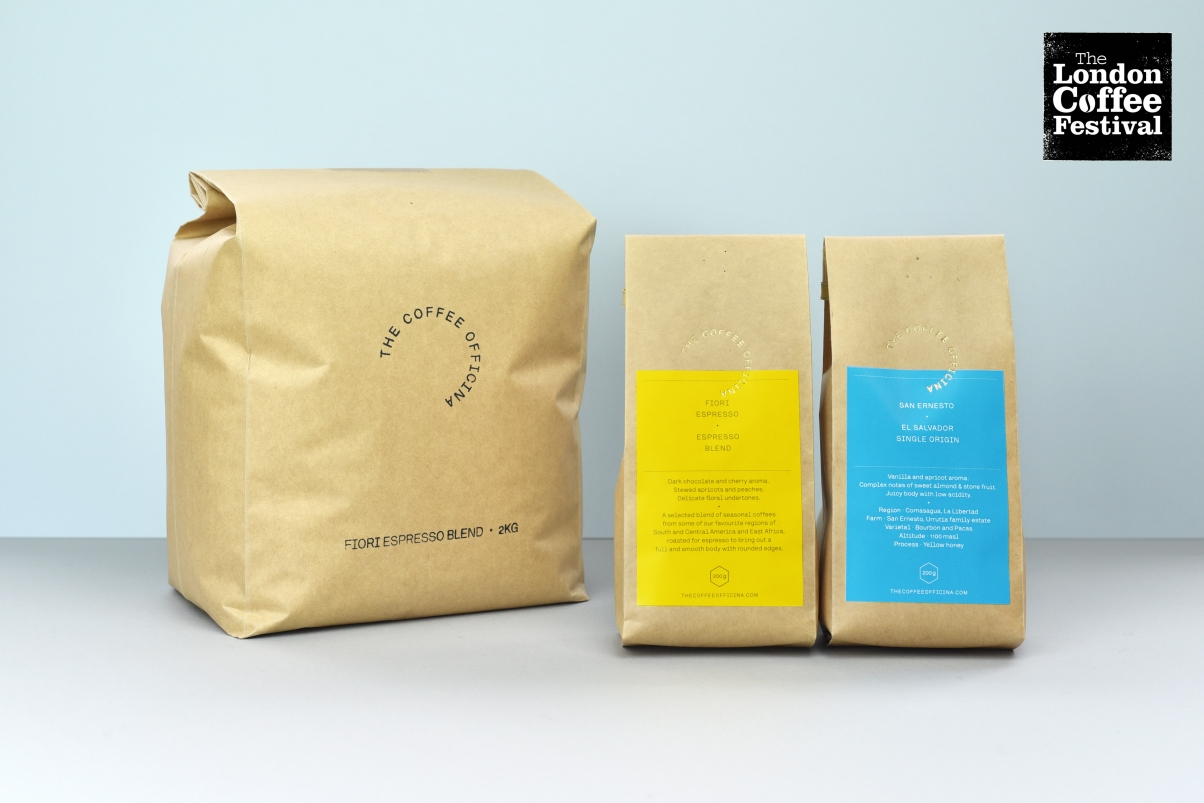 the coffee officina coffee bags
