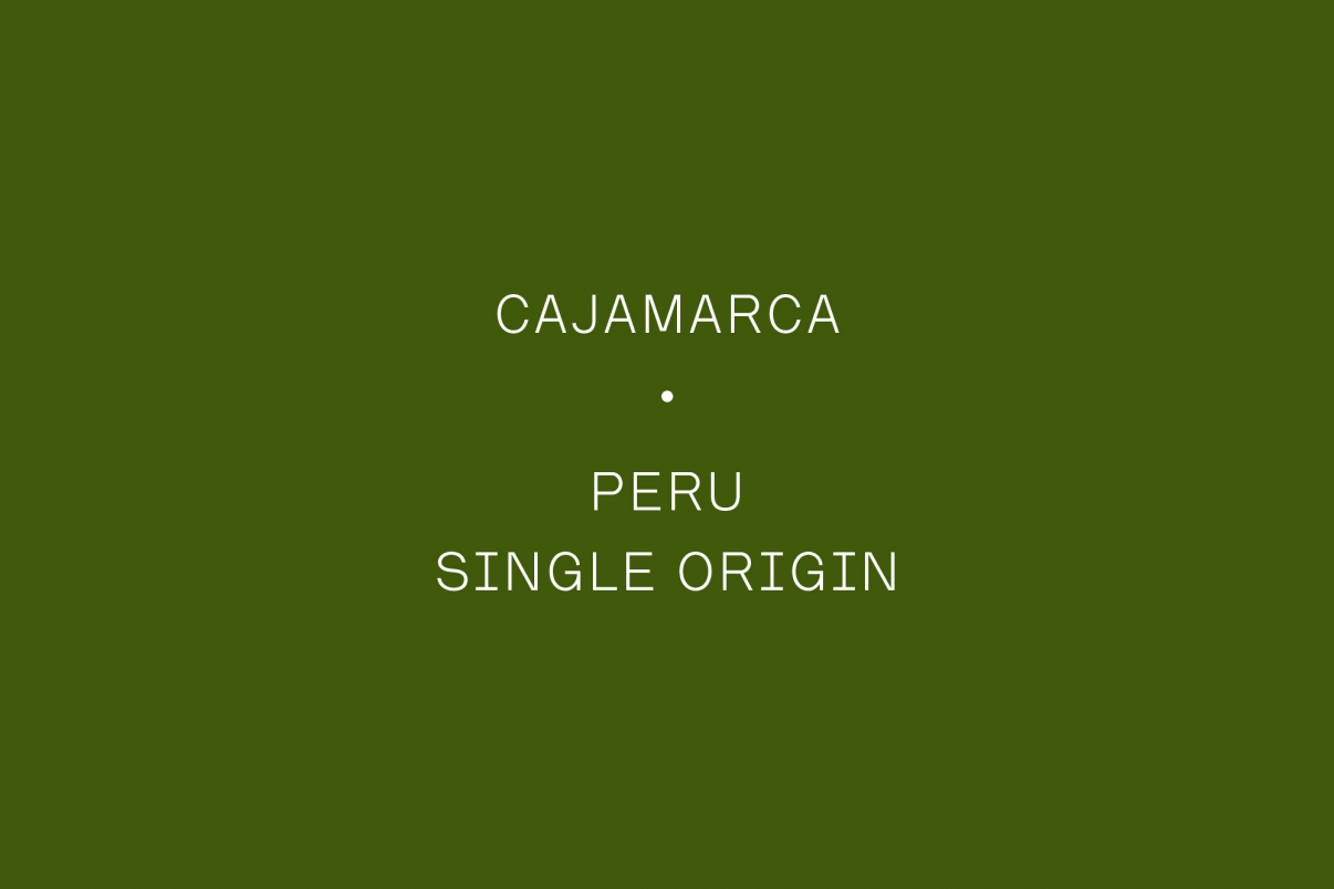 The Coffee Officina Cajamarca Peru Single Origin