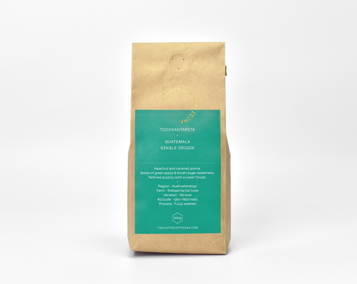 The Coffee Officina Guatemala Todosantarita Single Origin