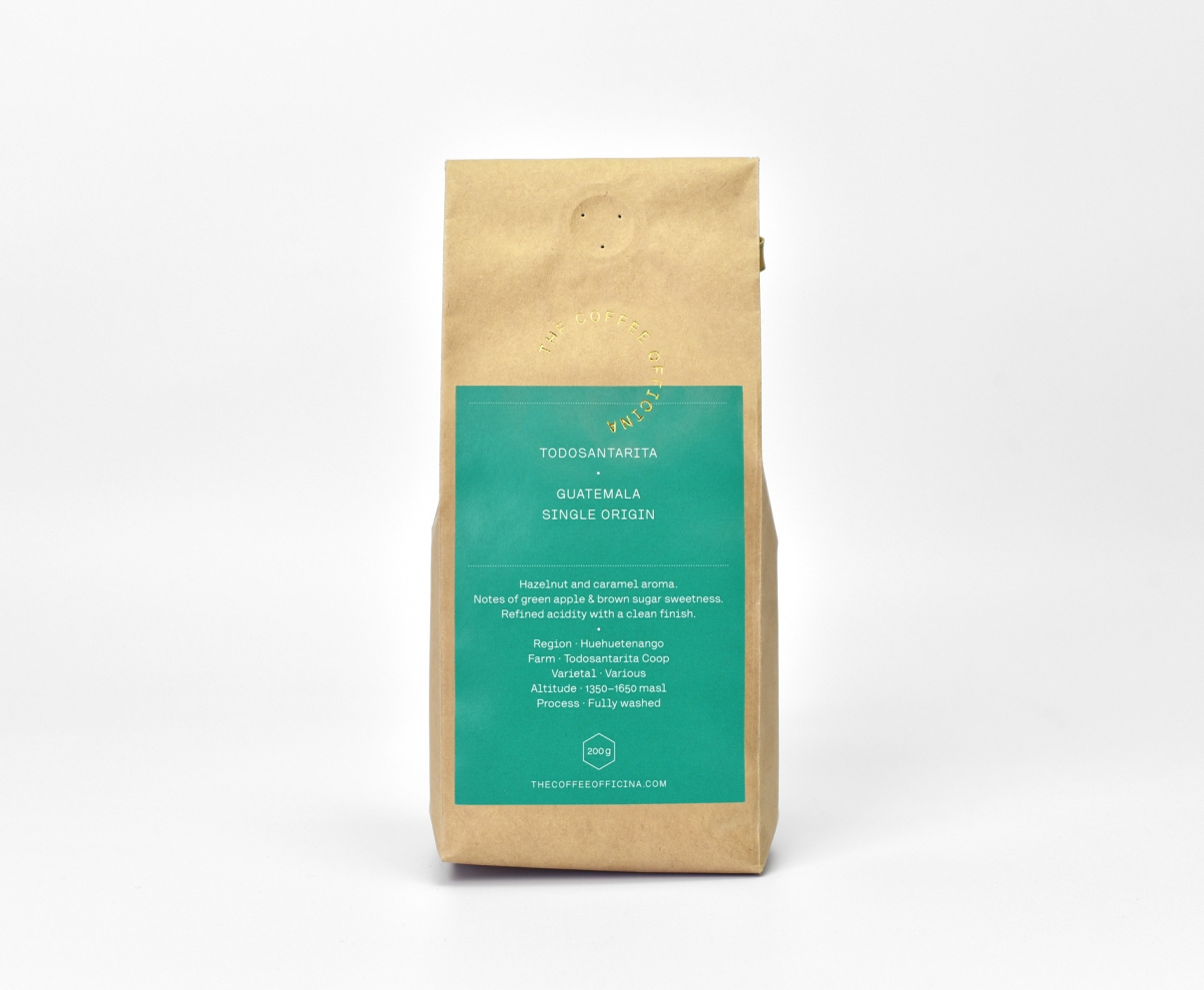 The Coffee Officina Guatemala Todosantarita Single Origin