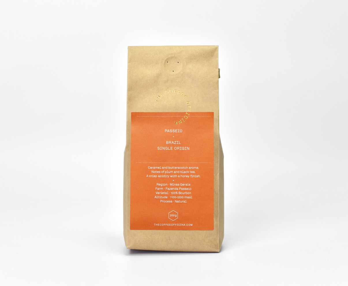 The Coffee Officina Brazil Passeio Single Origin