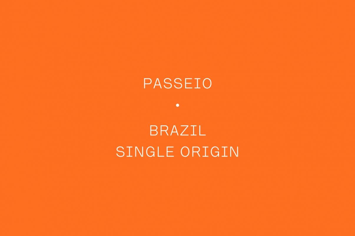 The Coffee Officina Brazil Passeio Single Origin