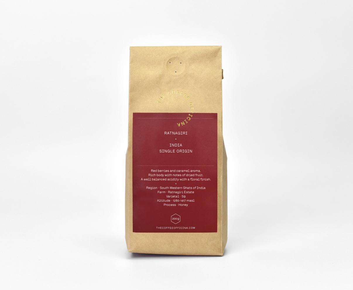 The Coffee Officina Ratnagiri India Single Origin