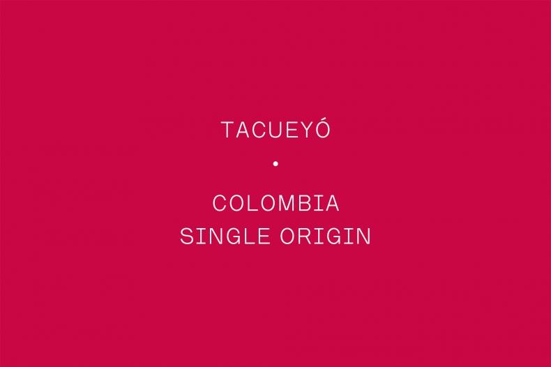 The Coffee Officina Tacueyo Colombia Single Origin