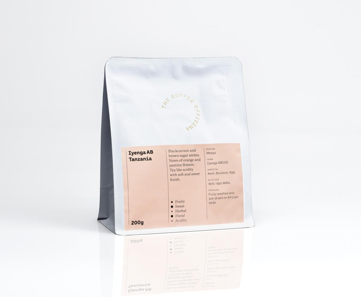 The Coffee Officina Iyenga AB Tanzania Single Origin