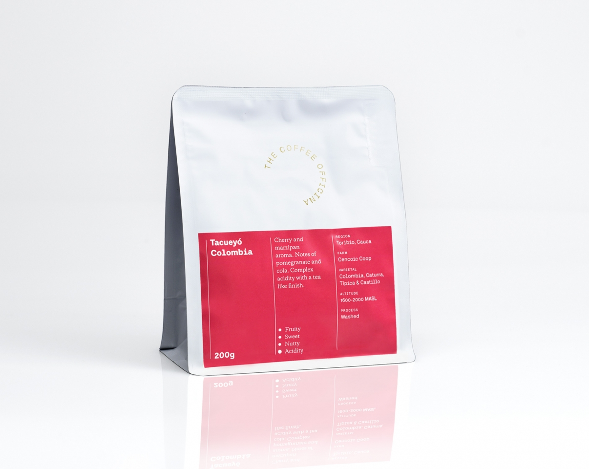 The Coffee Officina Tacueyo Colombia Single Origin