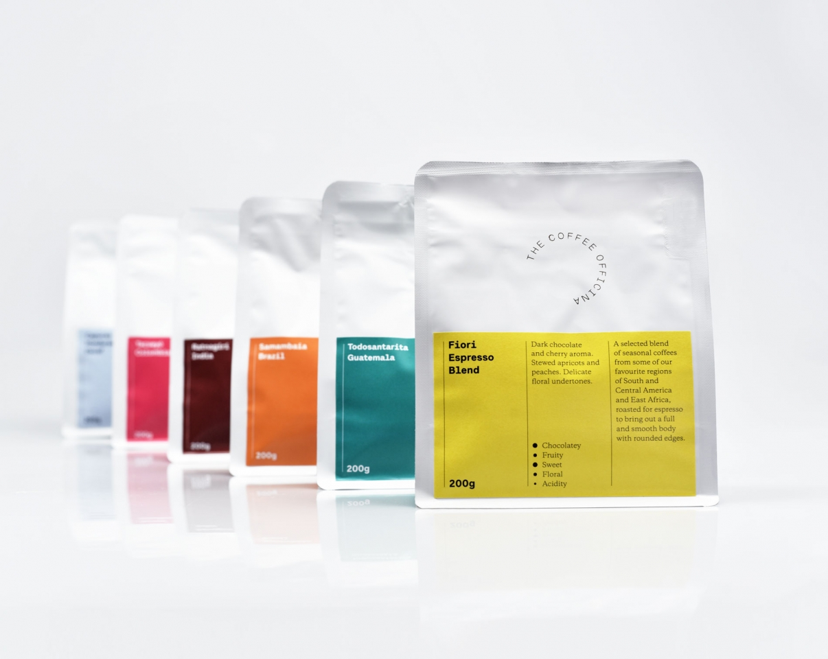 The Coffee Officina Our packaging