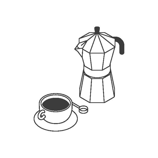 the coffee officina brewing method stove top moka pot