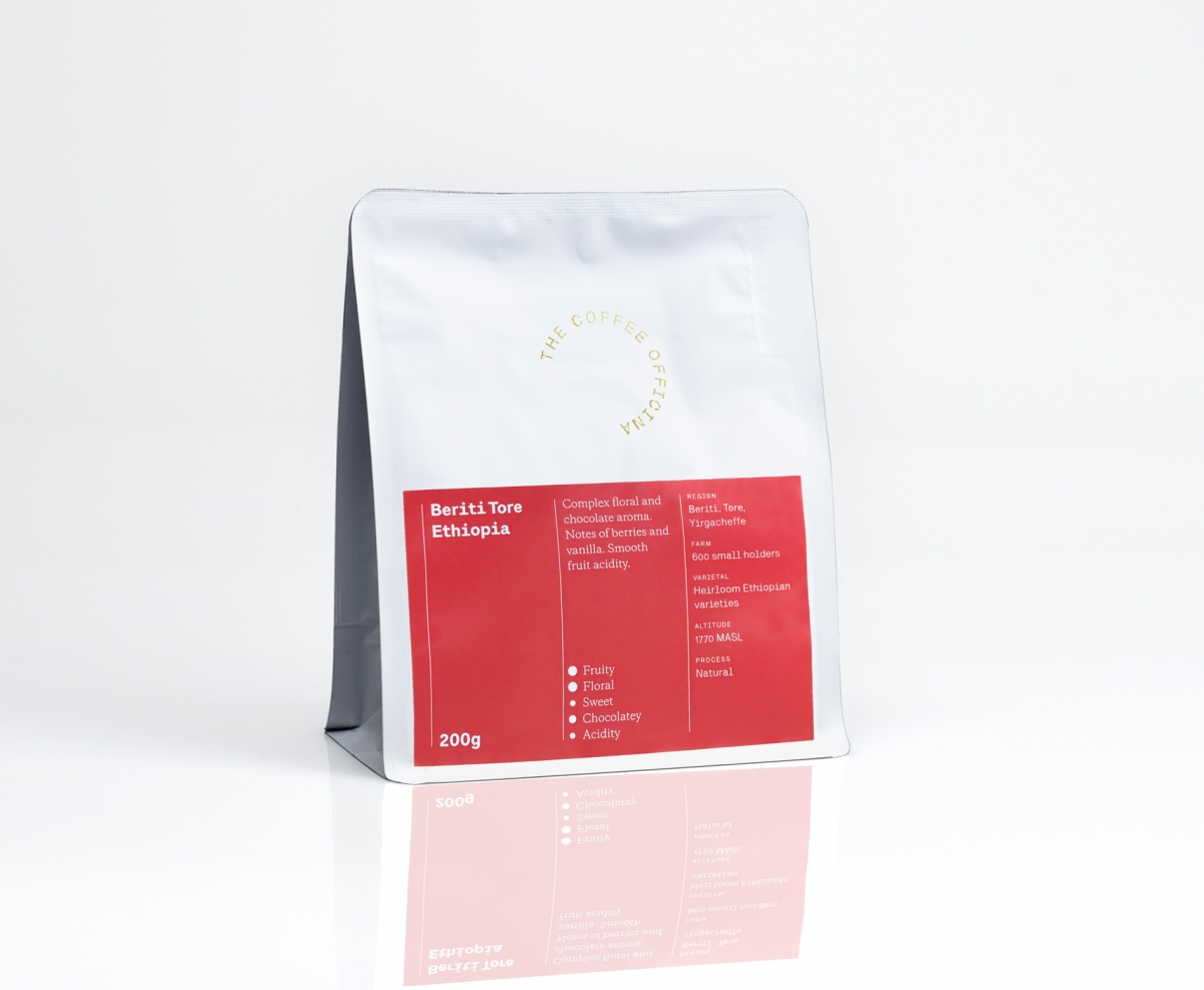 The Coffee Officina Beriti Tore Ethiopia Single Origin