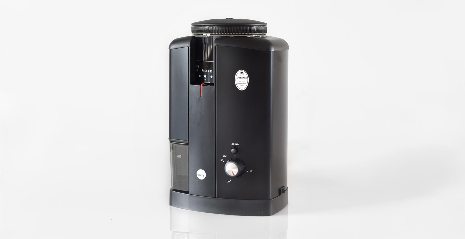 The Coffee Officina Wilfa Svart Aroma Coffee Grinder CGWS-130B