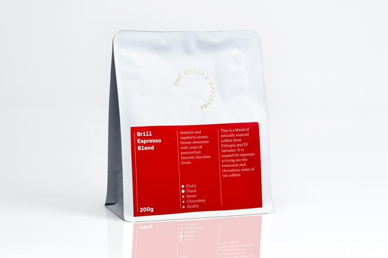 The Coffee Officina Shop Coffee Brill Espresso Blend