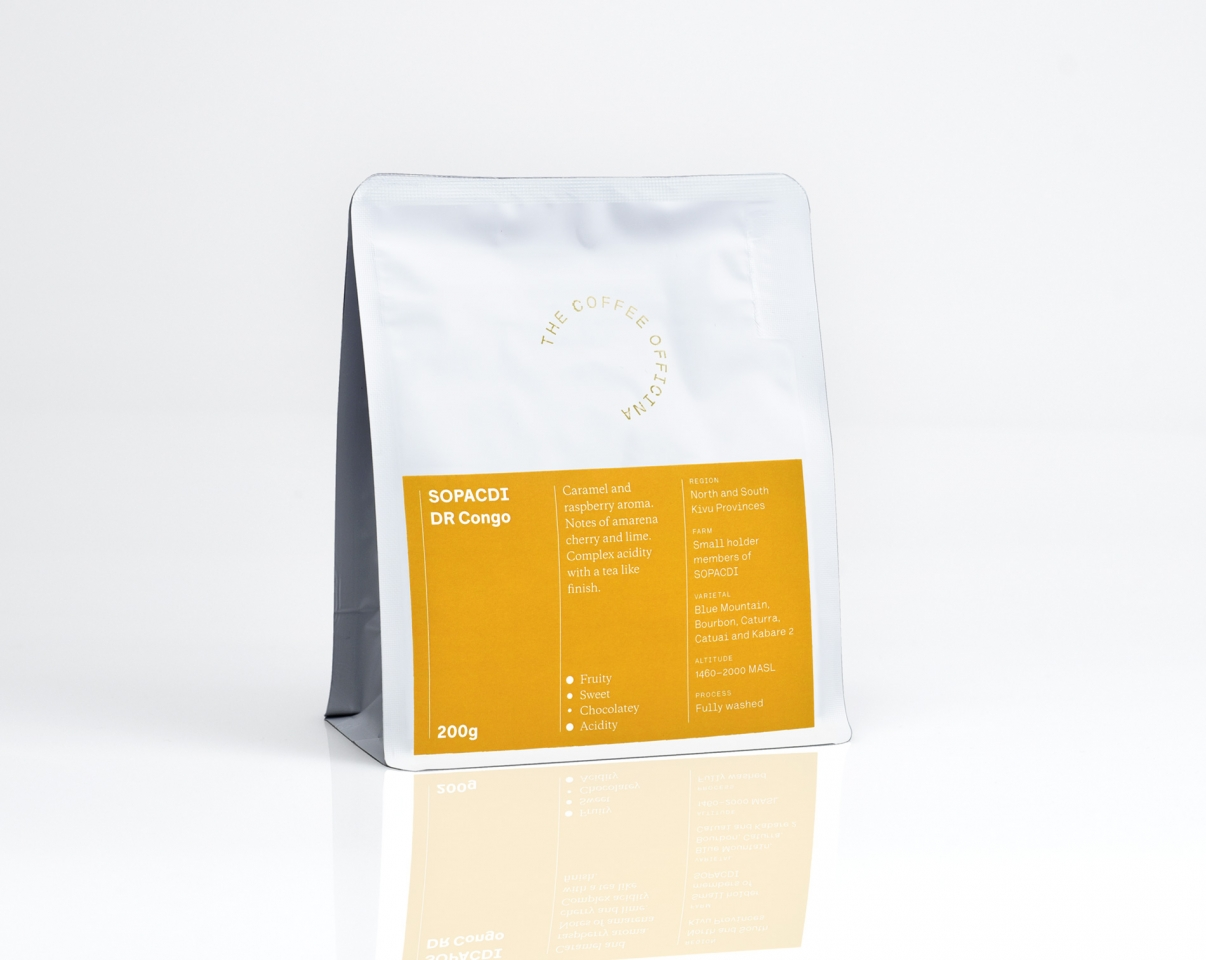 The Coffee Officina SOPACDI DR Congo Single Origin