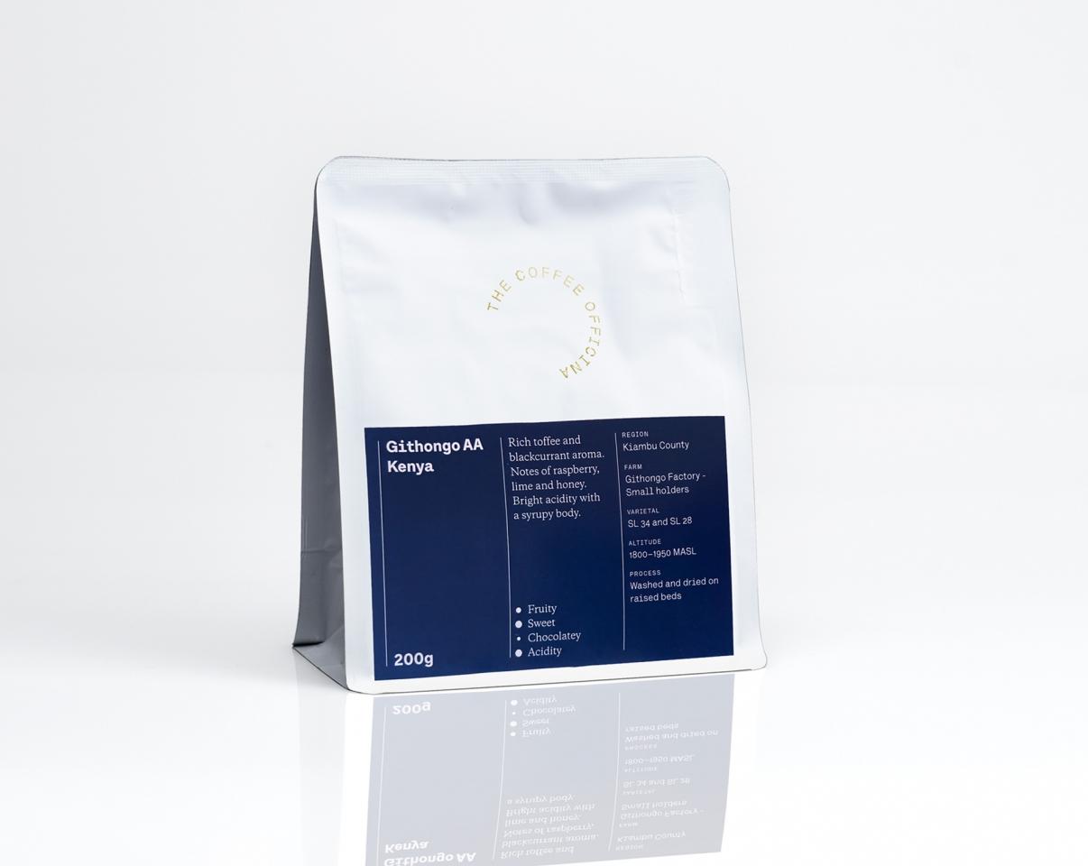 The Coffee Officina Githongo AA Kenya Single Origin
